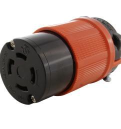 ac works 30 amp 250 volt 3 phase nema l15 30r 4 prong industrial wiring nema l5 vs l6 receptacle nema l15 30 plug 3 wire plug [ 1000 x 1000 Pixel ]
