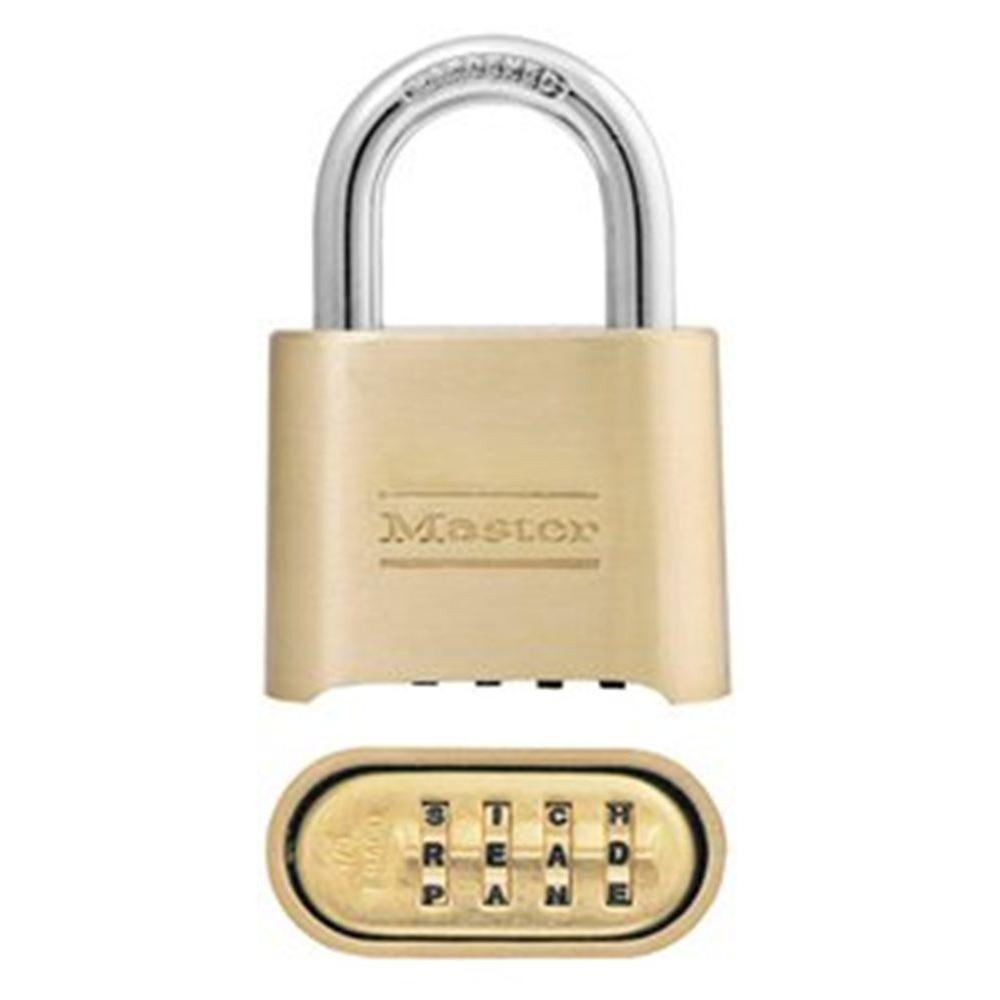 Master Lock 2 in SetYourOwn 4Digit Word Combination