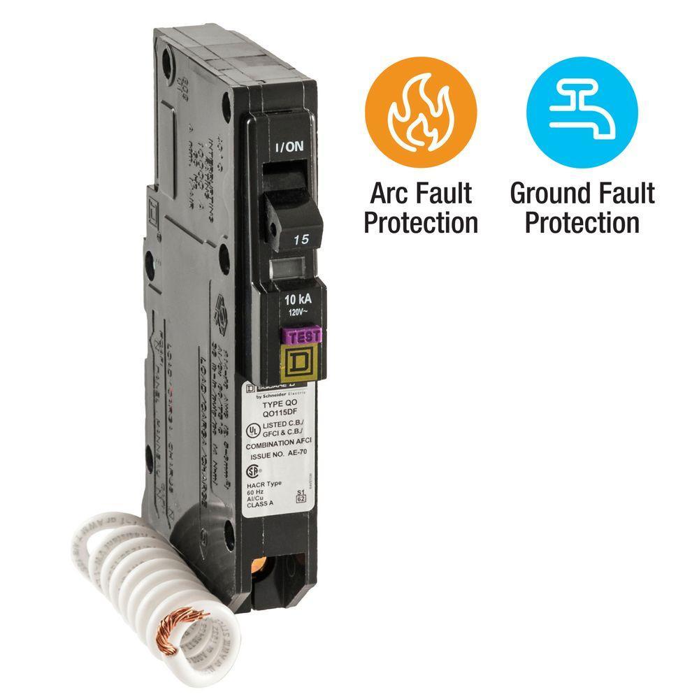 medium resolution of qo 15 amp single pole dual function cafci and gfci circuit breaker