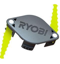 ryobi bladed trimmer head 2 pack  [ 1000 x 1000 Pixel ]