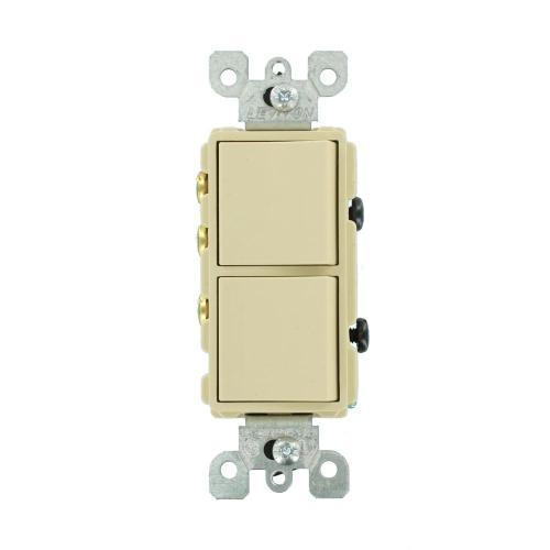 small resolution of leviton 15 amp decora commercial grade combination single pole rocker switch 3 way rocker