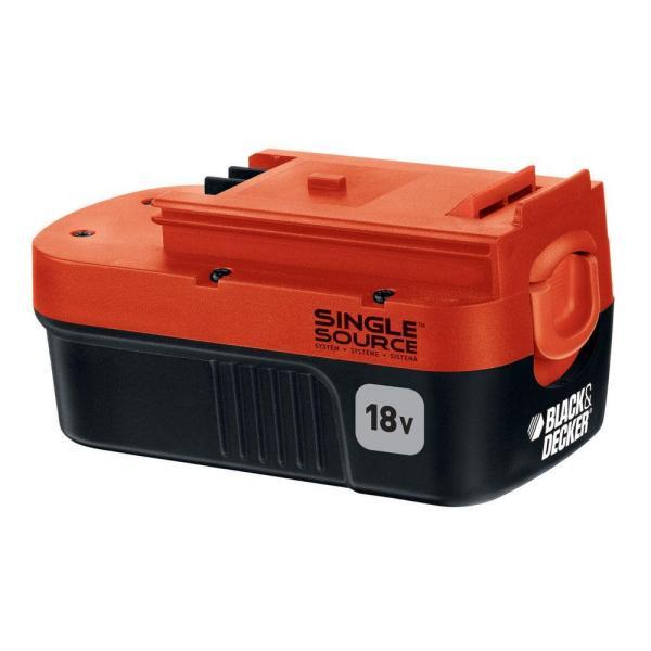 Black Decker 18-volt Nicd Battery Pack 1.5ah-hpb18-ope 1 - Home Depot