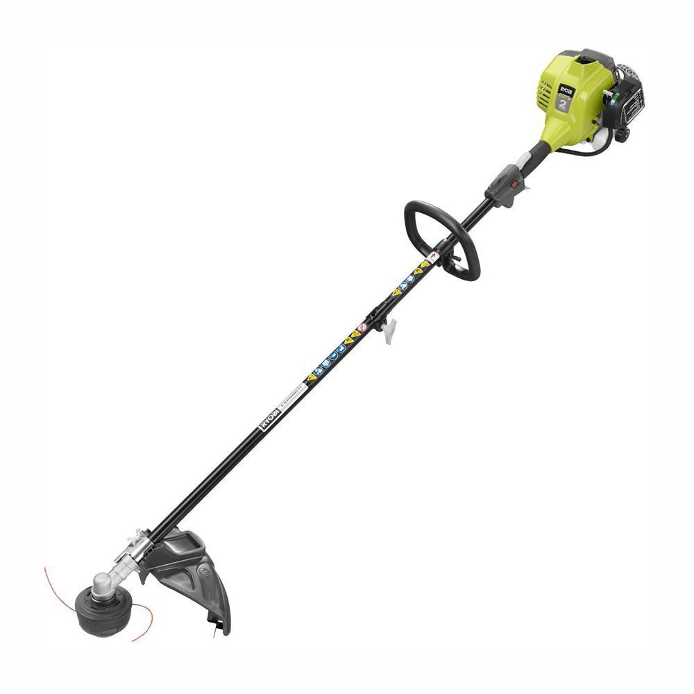 medium resolution of ryobi 25cc 2 cycle attachment capable full crank straight gas shaft string trimmer