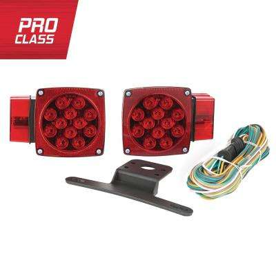 8 pin trailer wiring diagram ford harness towing lights equipment the home depot over and under led light kit