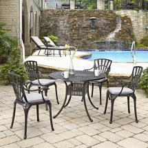 Home Styles Largo 42 In. 5-piece Patio Dining Set With