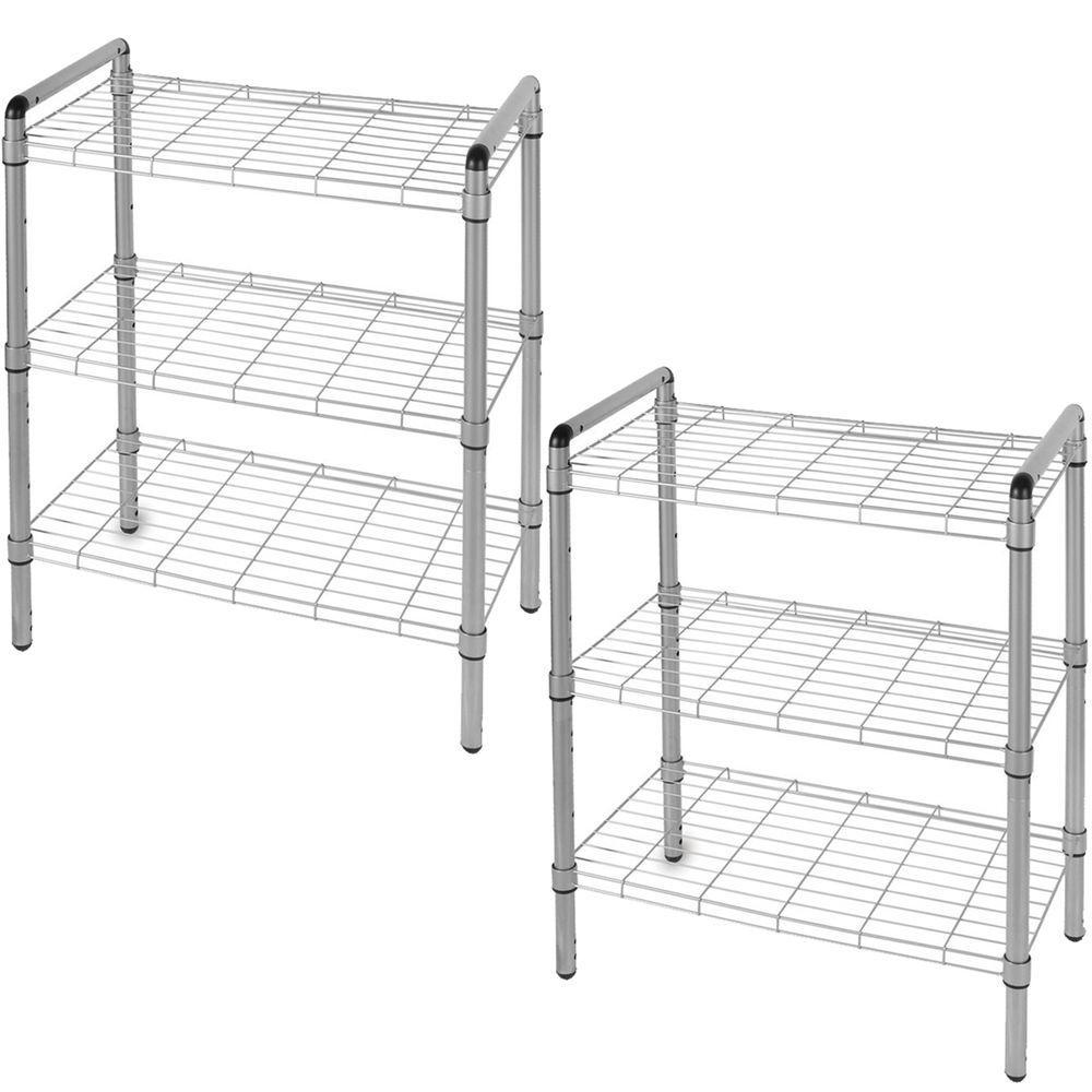 The Art of Storage 23 in. 3-Tier Quick Rack Adjustable