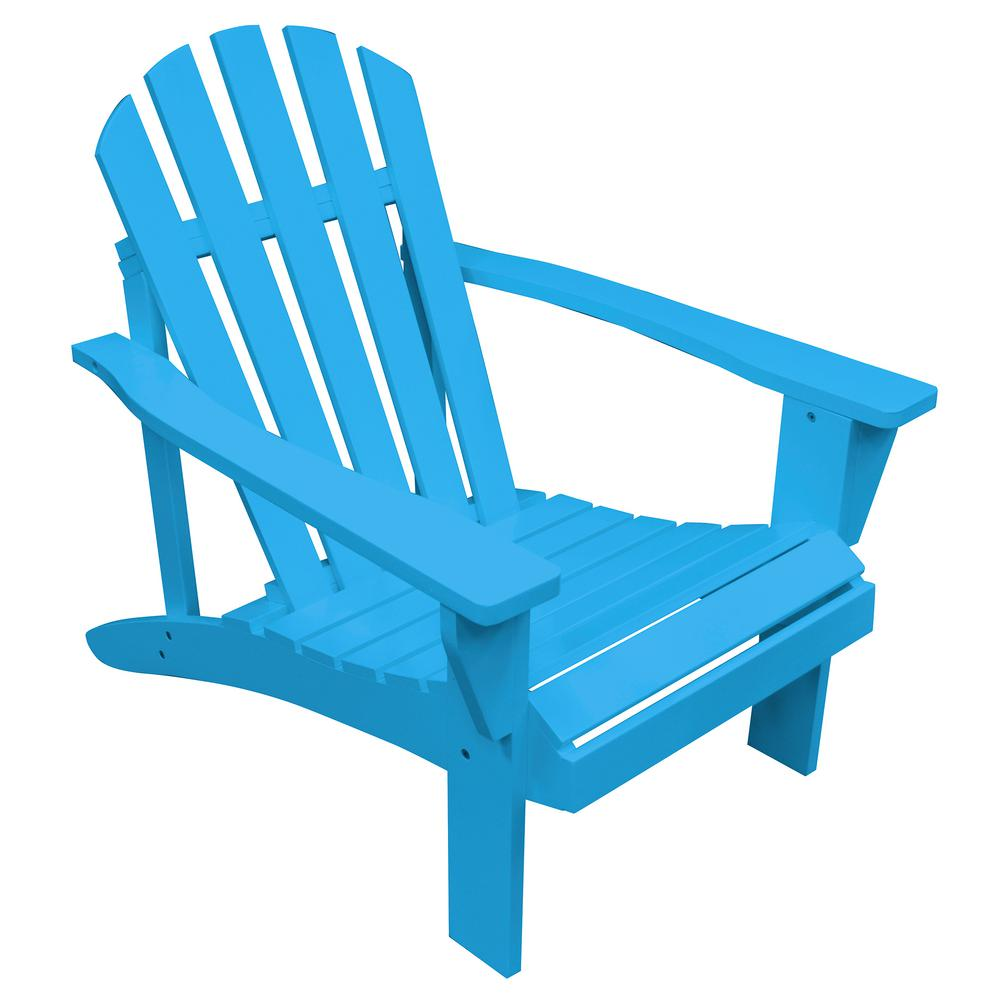 painted adirondack chairs accent chair gray and yellow amerihome aruba blue reclining wood with