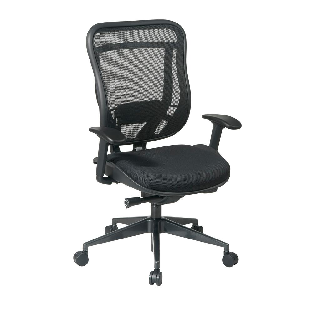 office chair high seat yellow covers for sale space seating 818 series black back executive