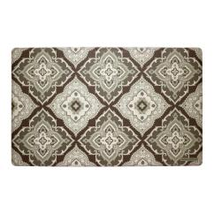 Memory Foam Kitchen Mats Remodeling Orange County Laura Ashley Allie Gray 20 In X 32 Mat