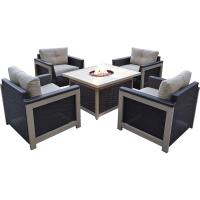 RST Brands Astoria 5-Piece Fire Pit Chat Set with Cantina ...