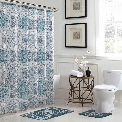 shower curtain polyester fabric