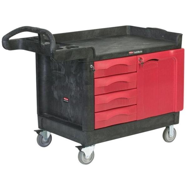 Rubbermaid Storage Carts with Drawers