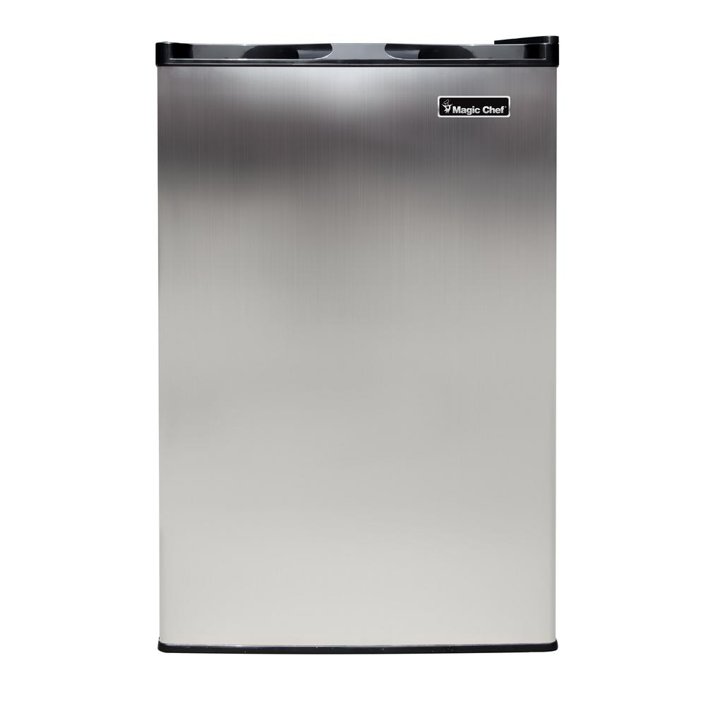hight resolution of upright freezer in stainless steel