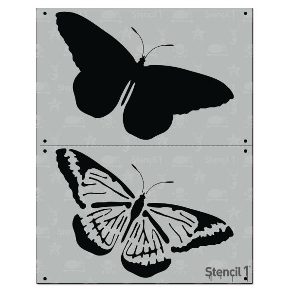 Stencil1 Butterfly 2 Layer Stencil-s1 2l 79 - Home Depot