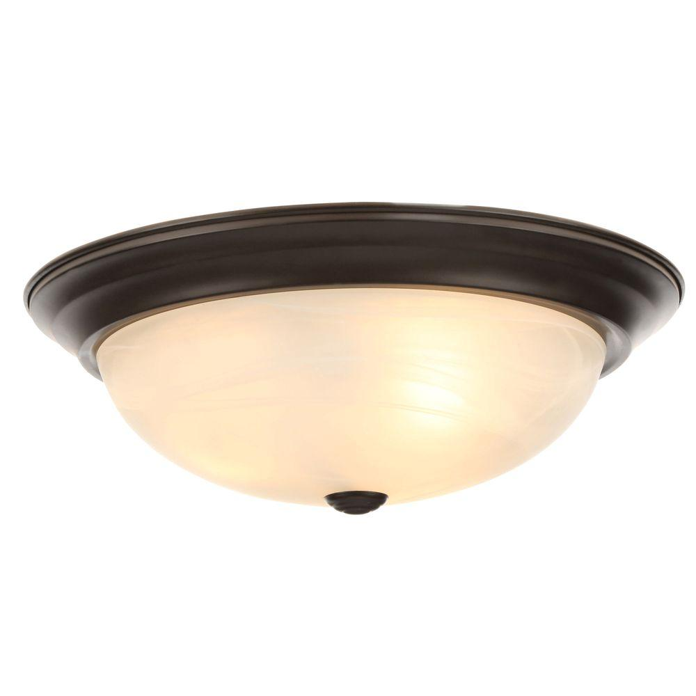 Designers Fountain Reedley Collection 3 Light Flush