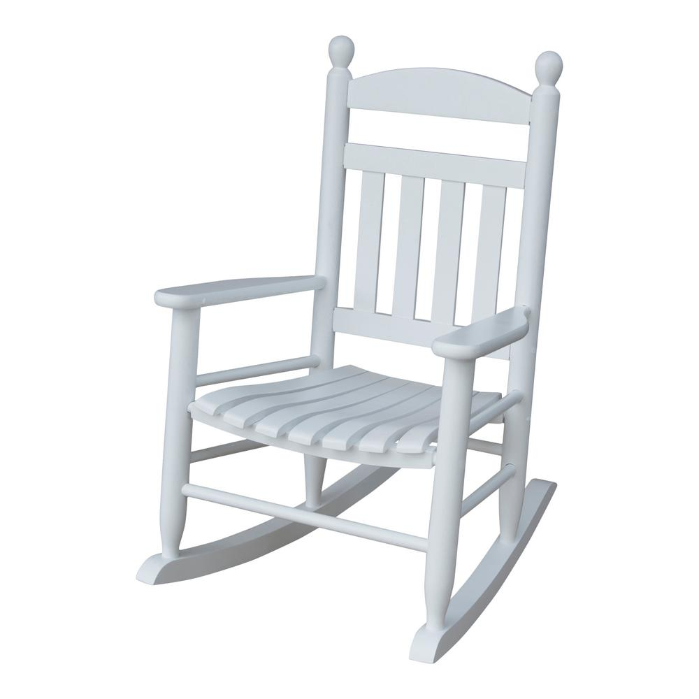 white wood rocking chair terrifying swing queenstown new zealand youth slat outdoor patio 201sw rta the
