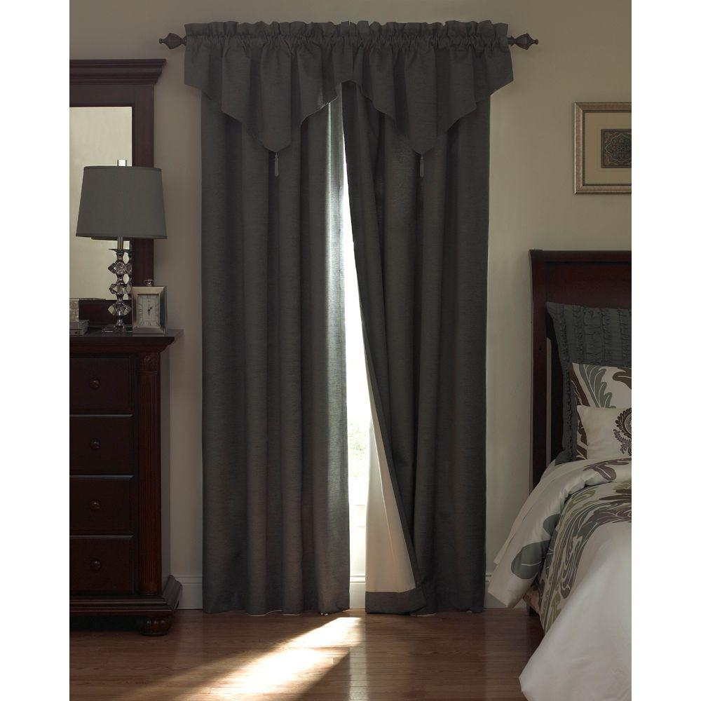 Absolute Zero Total Blackout Chocolate Faux Velvet Curtain Panel 63 In Length 11718050X063CH