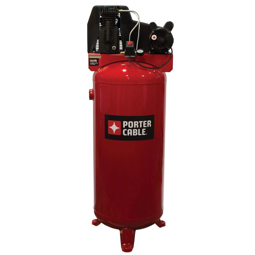 medium resolution of porter cable 60 gal vertical stationary air compressor