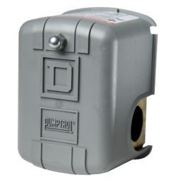 square d 30 50 psi pumptrol well pump water pressure switch [ 1000 x 1000 Pixel ]
