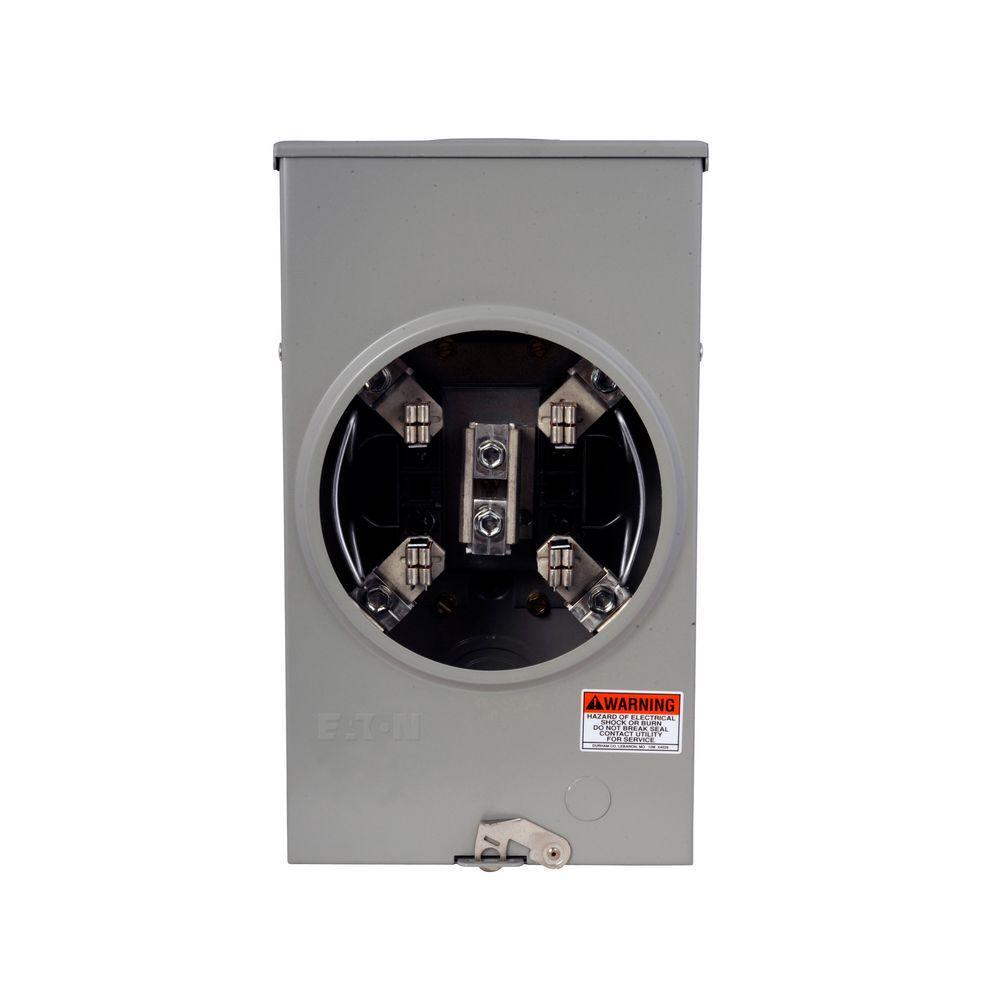 medium resolution of eaton 200 amp single meter socket with barrel lock provision