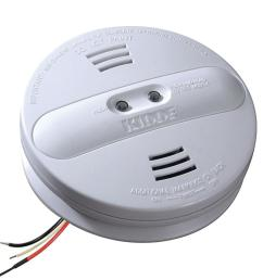 kidde hardwire smoke detector with 9v battery backup and ionization photoelectric dual sensors [ 1000 x 1000 Pixel ]