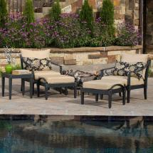 Rst Brands Astoria 5-piece Patio Chat Set With Delano