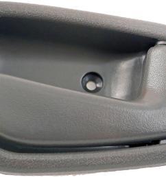 interior door handle front rear right 1998 1999 chevrolet prizm 1 8l [ 1000 x 1000 Pixel ]