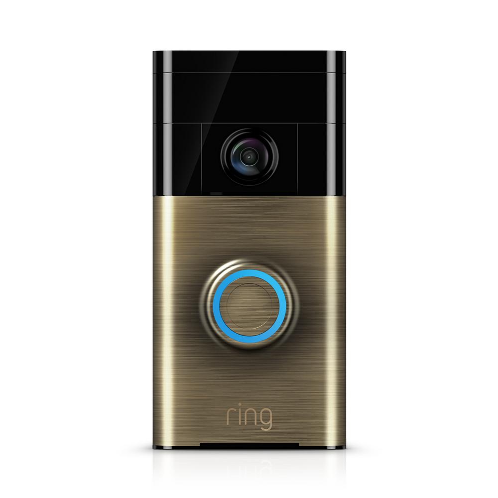 ring doorbell for sale ar 15 lower parts kit diagram wireless video 88rg000fc100 the home depot this review is from