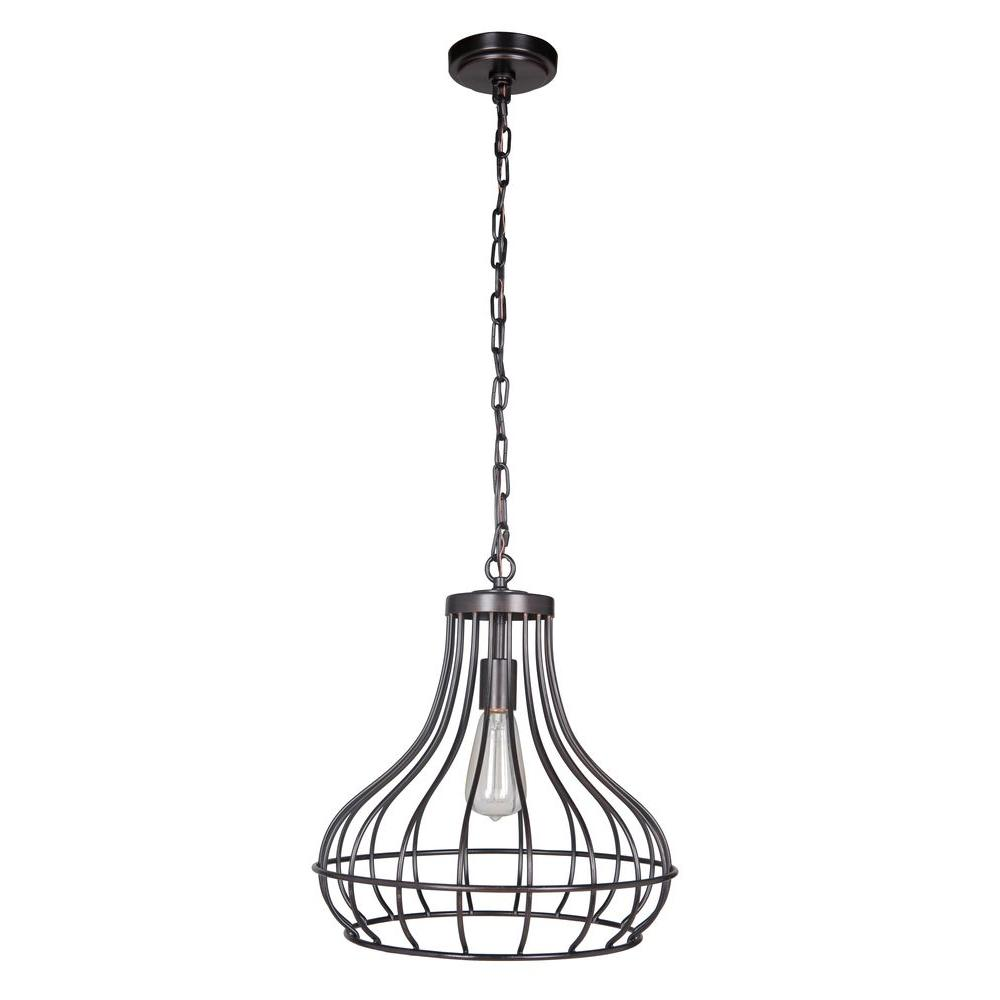Worth Home Products Hardwired Pendant Series 1-Light