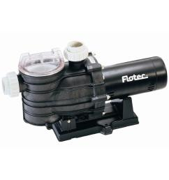 flotec 1 5 hp high performance in ground pool pump [ 1000 x 1000 Pixel ]