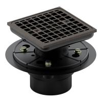 Kohler Square Design Tile-In Shower Drain in Oil-Rubbed ...