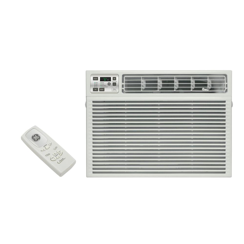 medium resolution of ge 11 600 btu 230 volt electronic heat cool room window air conditioner