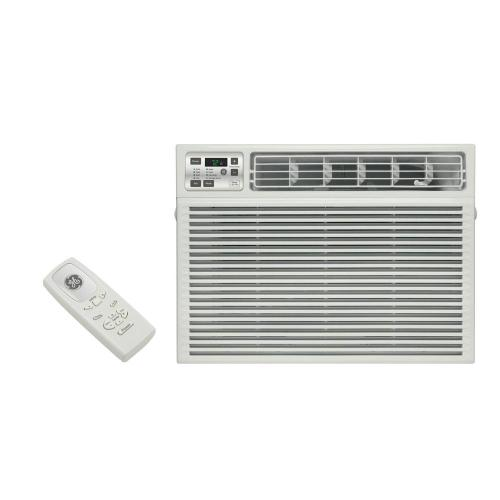 small resolution of ge 11 600 btu 230 volt electronic heat cool room window air conditioner