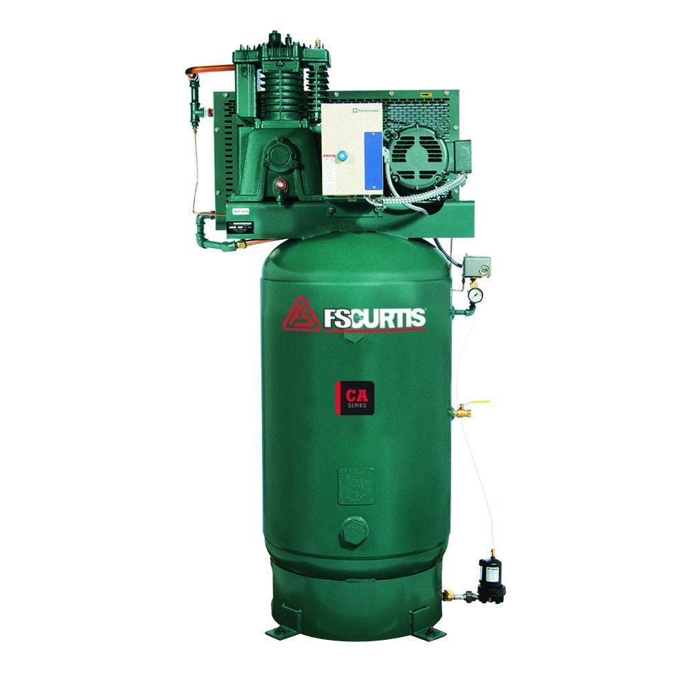 medium resolution of fs curtis 80 gal 7 5 hp 230 volt 1 phase electric ultrapack air curtis toledo air compressor wiring diagram