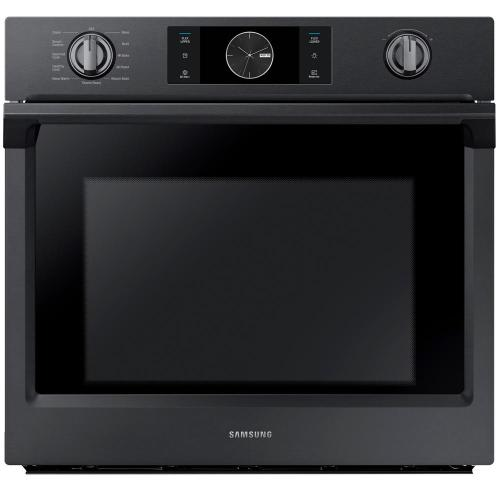 small resolution of single electric wall oven with steam cook flex duo and dual convection in fingerprint resistant black stainless