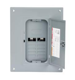 square d homeline 125 amp 8 space 16 circuit indoor main lug plug  [ 1000 x 1000 Pixel ]