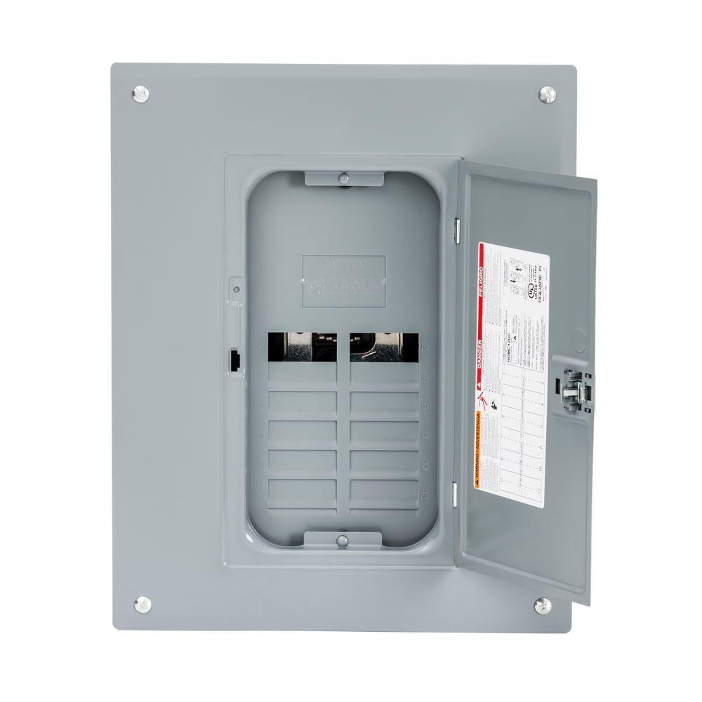 medium resolution of square d homeline 125 amp 8 space 16 circuit indoor main lug plug