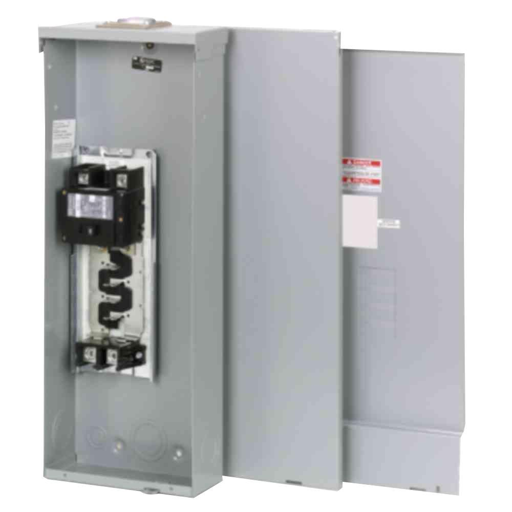 medium resolution of eaton br 200 amp 4 space 8 circuit outdoor main breaker loadcenter with cover