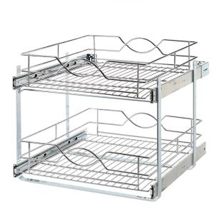Home Decorators Collection 20 in. Double Tier Wire Pull