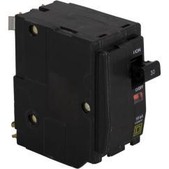 6 Way Square Trailer Wiring Diagram Vernal Equinox 2 Pole Breakers Circuit The Home Depot Qo 30 Amp Breaker