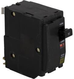 square d qo 30 amp 2 pole circuit breaker qo230cp the home depot rh homedepot com [ 1000 x 1000 Pixel ]