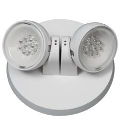 apwr 25 watt white integrated led emergency light with 2 remote heads [ 1000 x 1000 Pixel ]