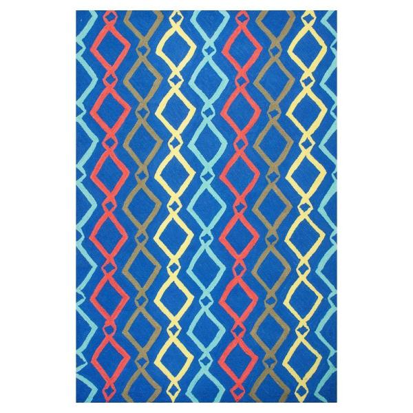 Kas Rugs Trends Blue 2 Ft. X 3 Area Rug-she63012x3
