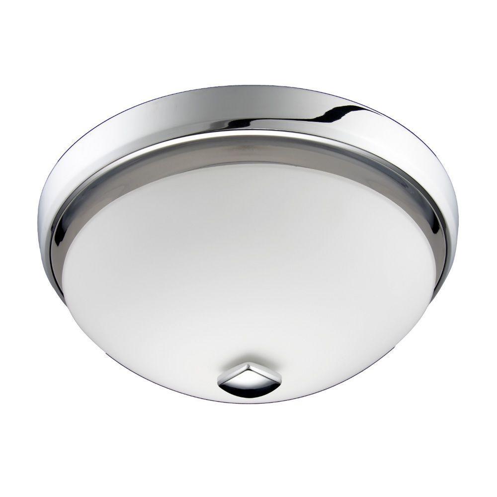 nutone decorative chrome 100 cfm ceiling bathroom exhaust fan with