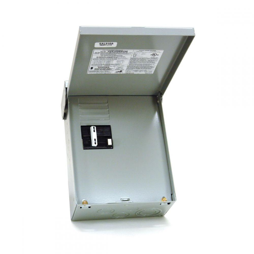 medium resolution of 50 amp 240 volt 240 watt non fuse metallic spa panel disconnect with gfi