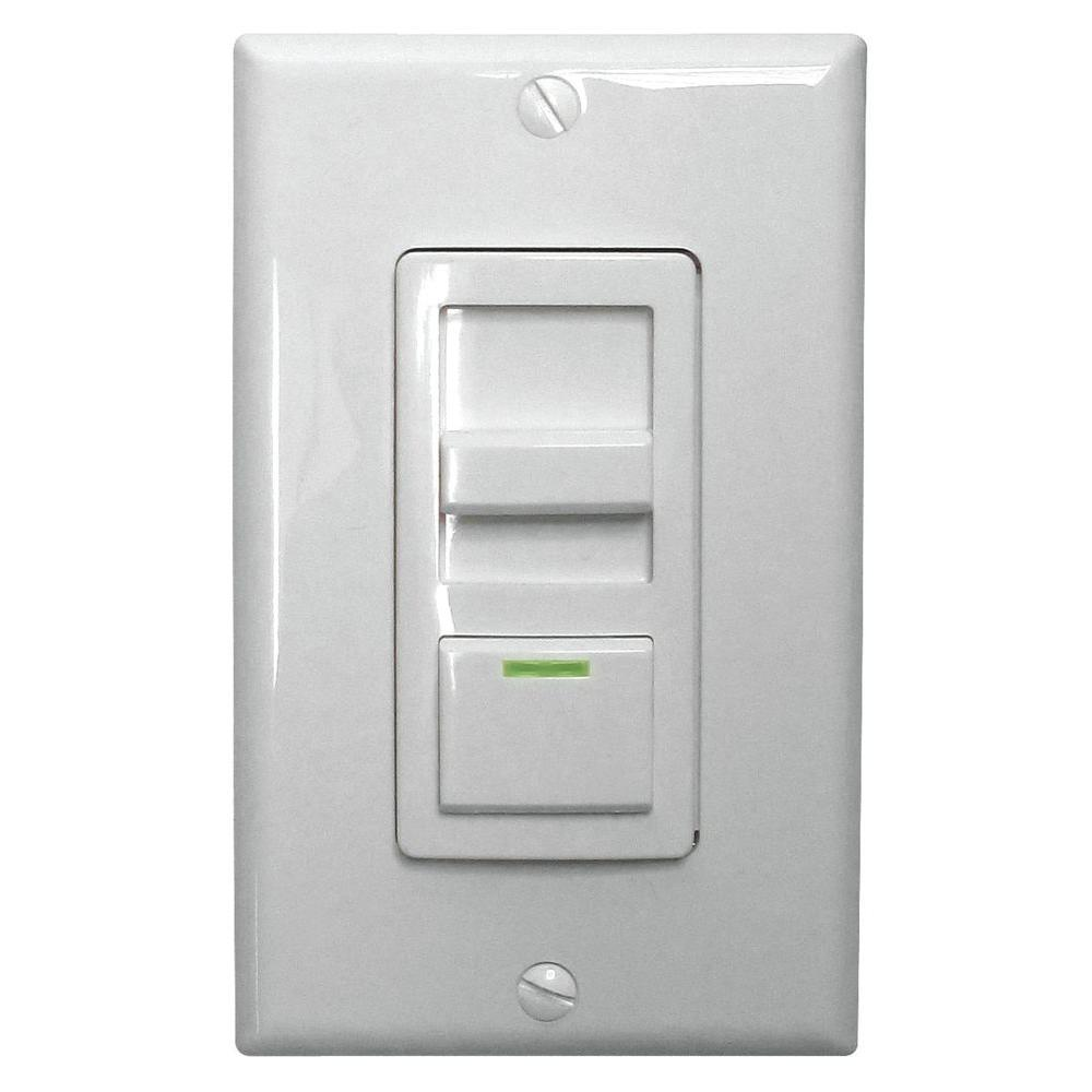 medium resolution of lithonia lighting led troffer dimmer switch isd bc 120 277 wh m10 the home depot