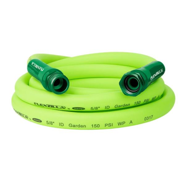 Flexzilla 5 8 In. X 10 Ft. Garden Lead-in Hose With 3 4 Ght Fittings-hfzg510yw - Home Depot