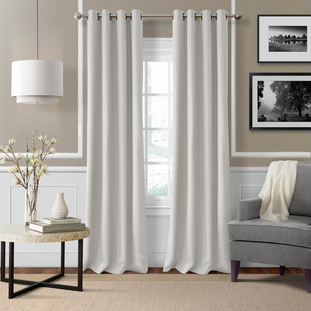 window curtains living room cheap carpets elrene essex solid light filtering curtain 63833wht the