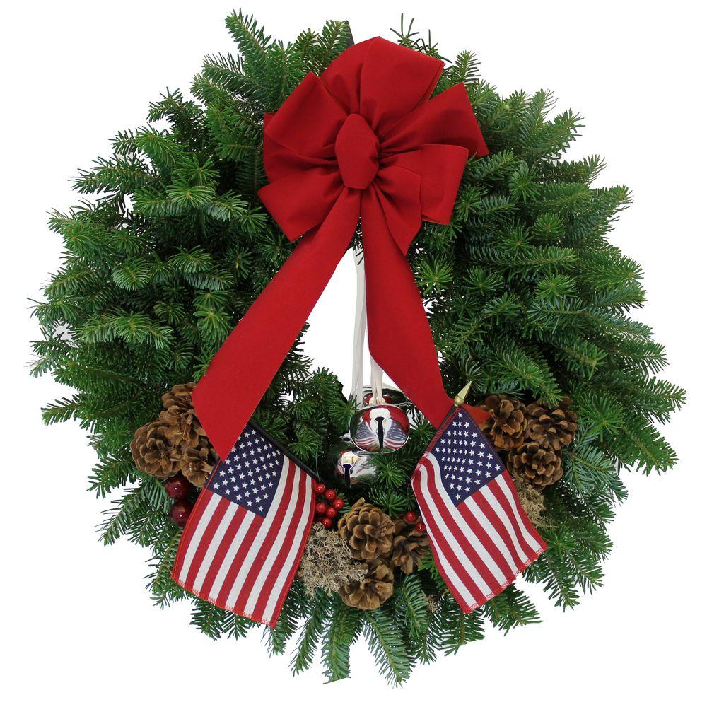 balsam fir large outdoor christmas wreaths - Large Outdoor Christmas Wreath