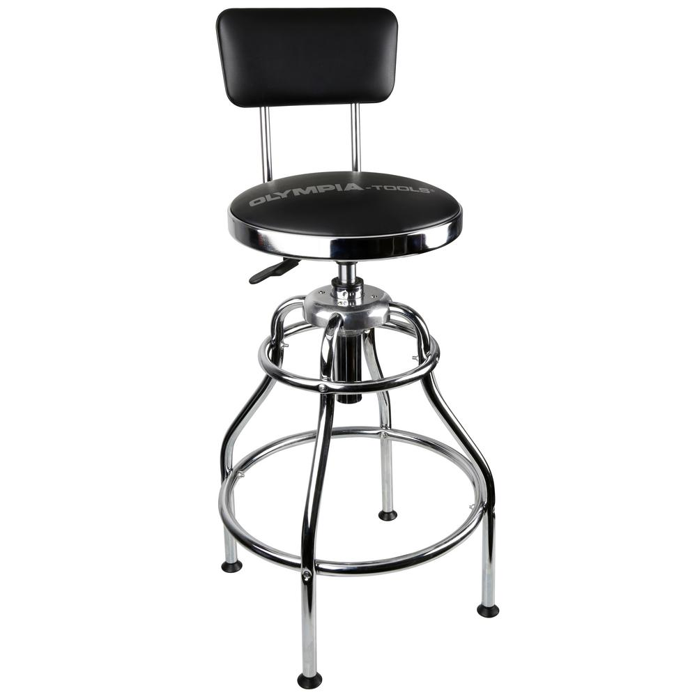 stool under chair fishing fox olympia adjustable 19 in w hydraulic shop 82 738 the home depot